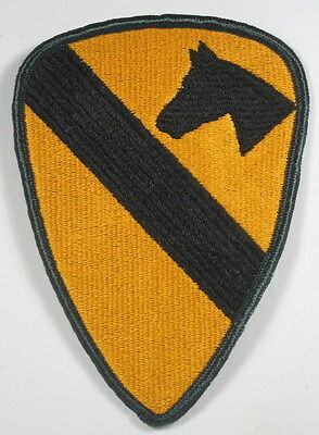 US Army First 1st Calvary Division Full Color Patch Insignia Fort Hood, TX