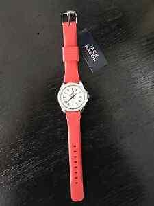 University of Alabama Crimson Silicone Jack Mason Watch with Crystals