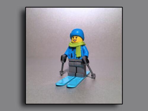 City Creator Expert Lego Figuren Minifiguren SKIFAHRERIN