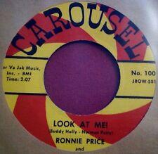 RONNIE PRICE - Look At Me! / White Bucks - MEGA RARE ROCKABILLY !!!