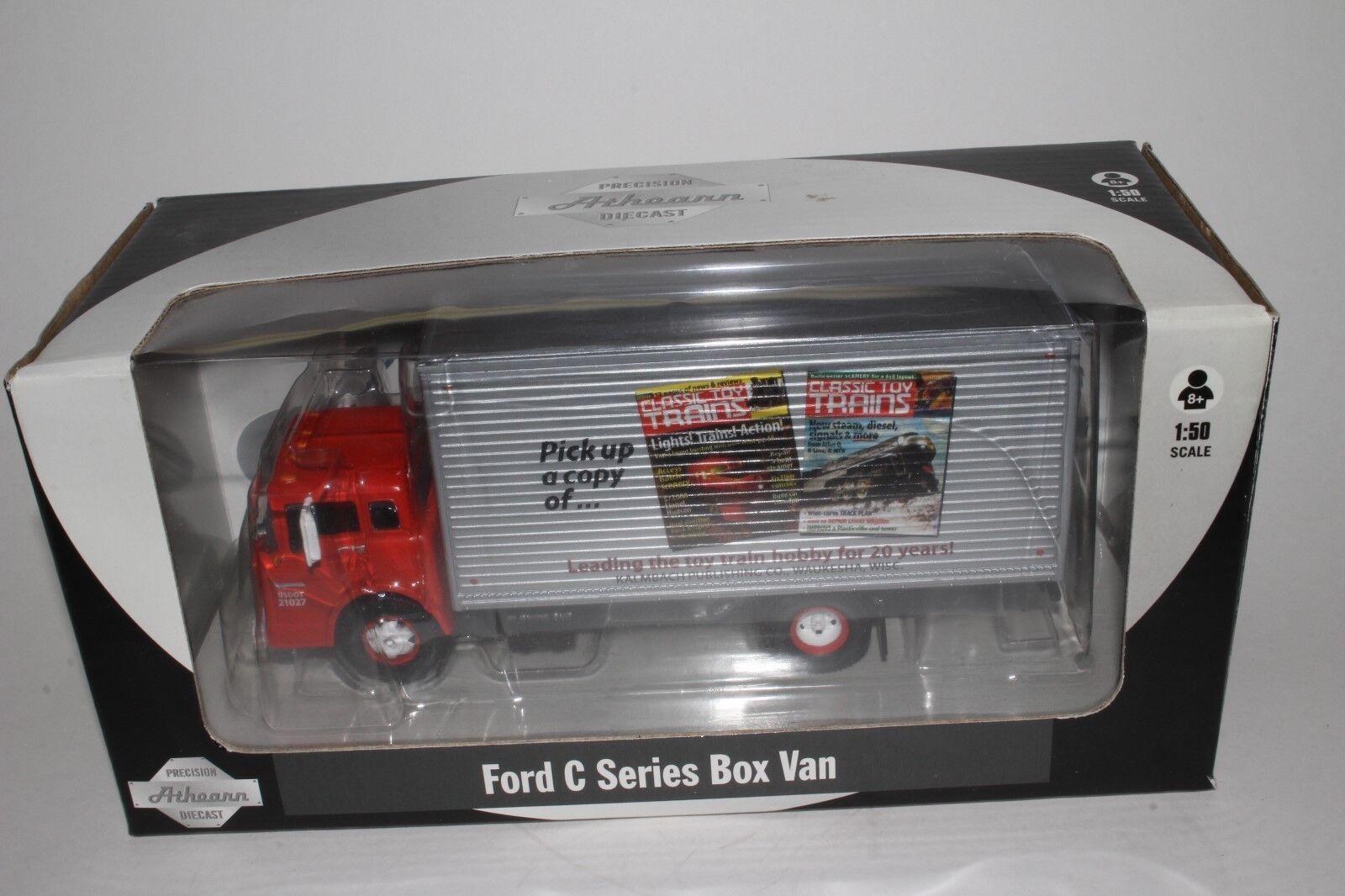 Athearn Ford C Series Box Lkw, Klassisch Spielzeug Trains, O Maßstab   1 50,