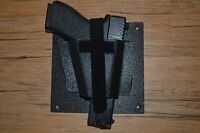 Vehicle-car Gun Holster--hide A Holster- Mount It Anywhere-- Made In The Usa