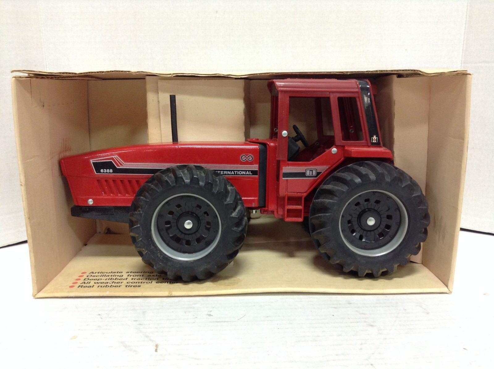 ERTL IH 6388 CASE INTERNATIONAL Diecast 2+2 jouet  tracteur échelle 1 16  464-8241  magasin d'usine