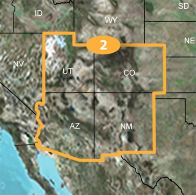Garmin TOPO U.S. 24K SOUTHWEST Maps MicroSD Data Card 4 US States  Topographic