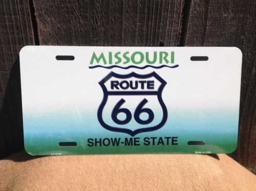 Route 66 Missouri Show Me State Wholesale Novelty License Plate Bar Wall Decor