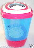 Portable Pink Mini Washing Machine Baby Student Office Camping Use Smart Choice