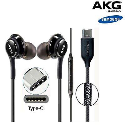 Samsung AKG GH59 15198A Stereo In Ear tipo C Headset Cuffie Auricolari 10 Note | eBay