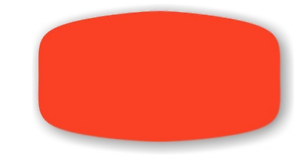 Details about FL RED BLANK LABELS 1000 ea/ ROLL free shipping STICKERS