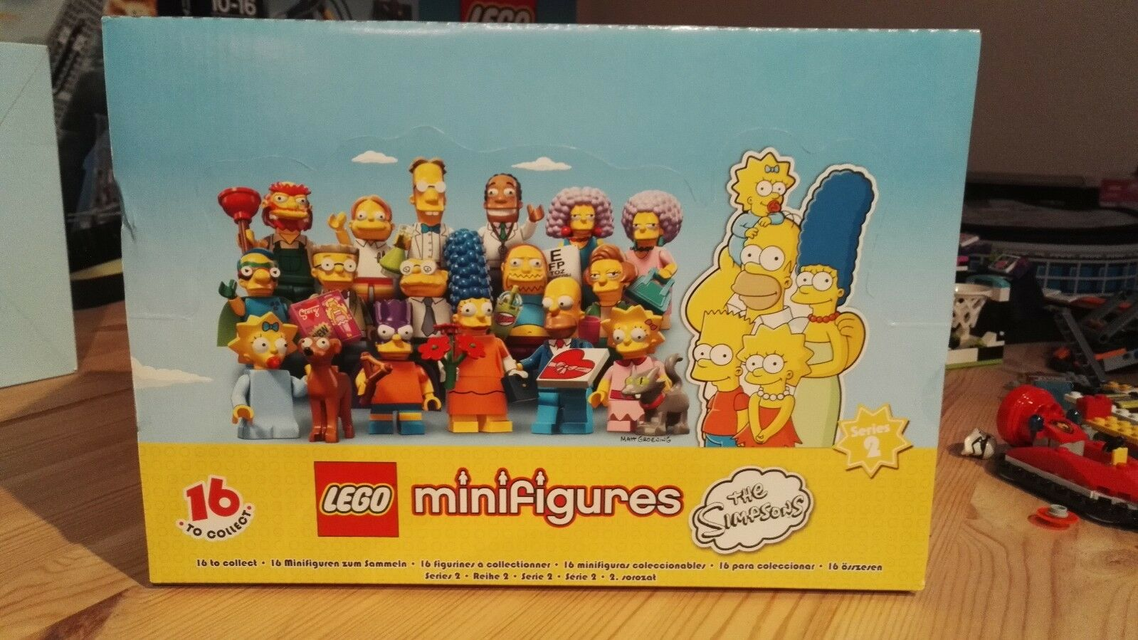 LEGO 71009 Minifigures THE SIMPSONS Serie 2 Sigillato 60 Buste pcs-completo