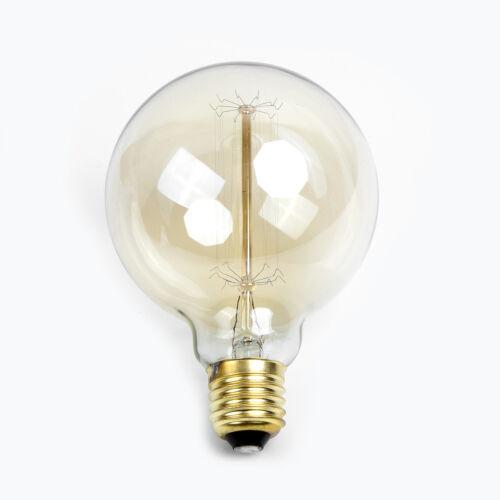 E27 40W Edison Vintage Retro Lampe Glühlampe Filament Glühbirne Birne Leuchte