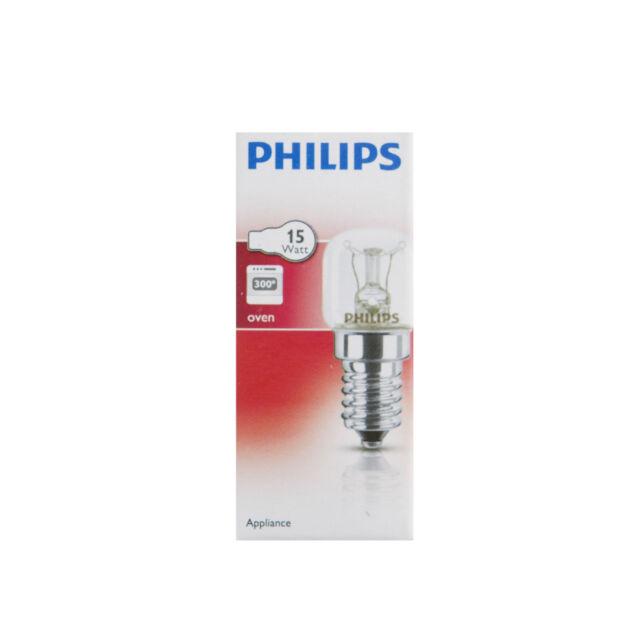LAMPADINA forno originale PHILIPS//Forno A Microonde Lampadina 15w e14 300c Ses Fornello Lampada 4119