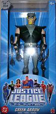 "Green Arrow - Justice League Unlimited JLU 10"" Action Figure DC Mattel *NEW* MIP"
