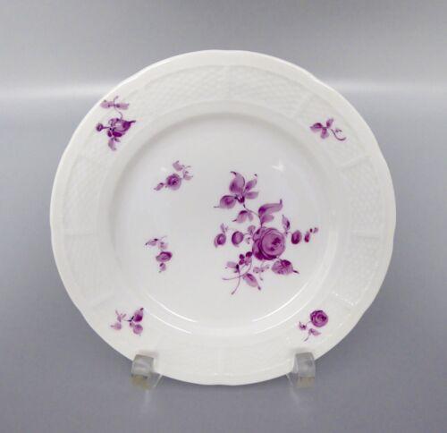 Nymphenburg Korb Osier purpur Blume 5117 Teller ø 16cm D