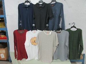 cf93dbfa Details about 8 MENS T-SHIRTS XLT CLOTHING LONG THERMAL SHORT BIG TALL  NORTHWEST ROUTE 66 LOTS