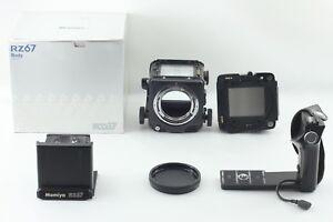 NEAR-MINT-Mamiya-RZ67-Pro-Body-Medium-Camera-w-BOX-Hand-Grip-JAPAN