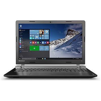 Lenovo Ideapad 100 15.6 Inch 2.16GHz Celeron 8GB 1TB Windows 10 Laptop - Black