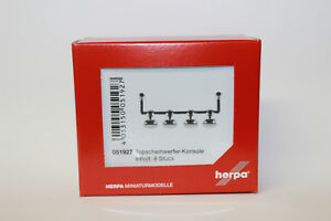 Herpa-051927-Topscheinwerfer-Konsole-8-Stueck-1-87-H0-NEU-in-OVP
