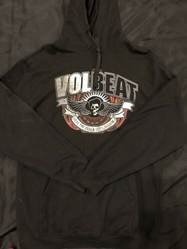"""Volbeat """"seal The Deal And Lets Boogie"""" Hoodie Sz"""