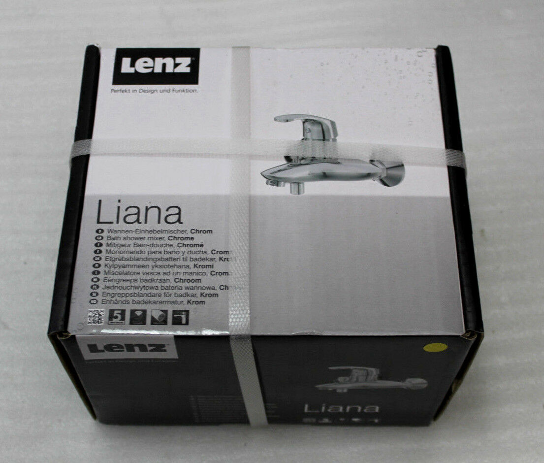 Lenz Liana Badewannenarmatur 44020502 Wannen Einhebelmischer