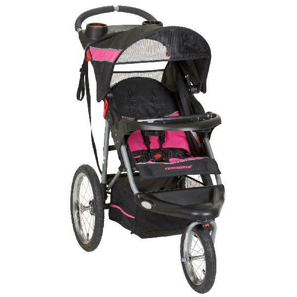 Baby Jogger Stroller Travel System Safety Infant Carseat Carriage w Cup Holders