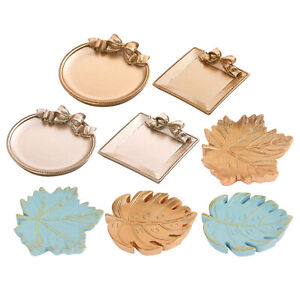 Resin Tray Small Dish Jewelry Ring Necklace Storage Tray Trinket Dish Gift