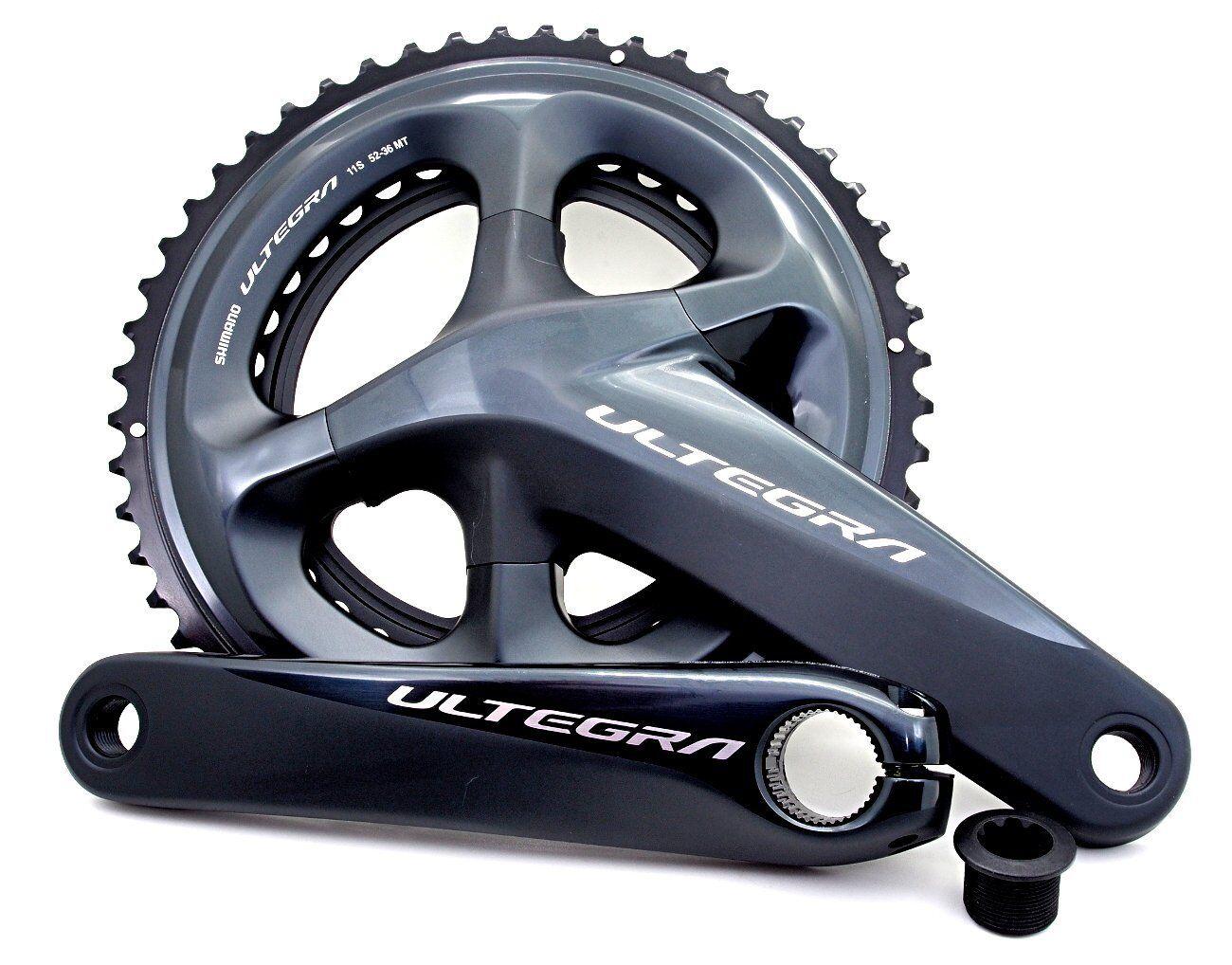 Shimano Ultegra FC-R8000 52-36T 11 Speed Crank Set 165mm
