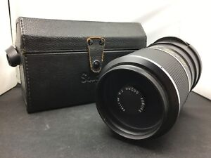 Olympus-Soligor-500mm-F-8-Mount-Mirror-Lens-No-17132-Made-In-Japan-SW223