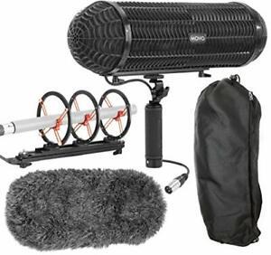 Bon CœUr Movo Bws1000 Blimp Wind & Vibration Système De Protection Pour Fusil Microphones-afficher Le Titre D'origine
