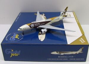 Gemini Jets ETIHAD CARGO Boeing 777F SHEIK ZAYED REG#A6-DDE 1/400 GJETD1812