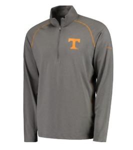 Columbia Sportswear Men/'s Tennessee Collegiate Tuk Mountain Half Zip Shirt