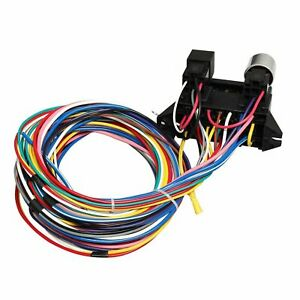 Details about New 12 Circuit Wire Harness Muscle Car Hot Rod Street on