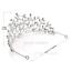 Bridal-Princess-Party-Crystal-Tiara-Wedding-Crown-Veil-Hair-Accessory-Headband thumbnail 8