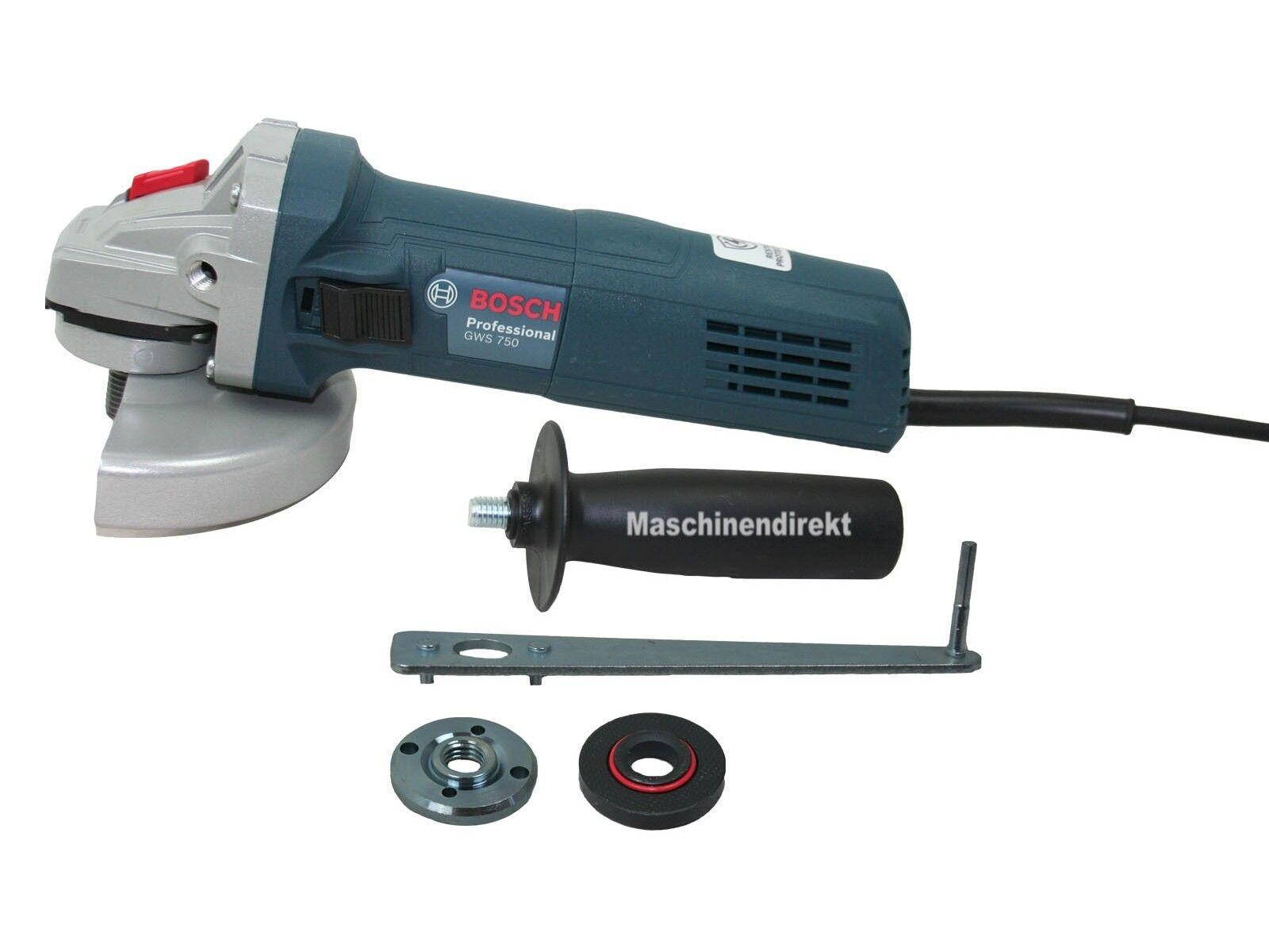 Bosch Winkelschleifer GWS 750 125 mm 750 W 0 601 394 001