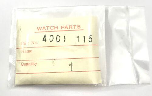 NOS SEIKO 4001 115 Original Circuit Block Circuito Schaltung Genuine 3WC