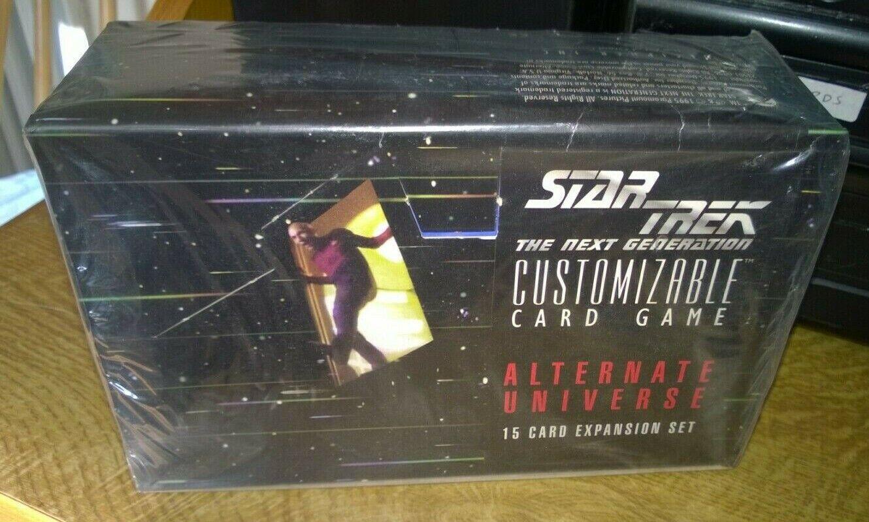 スタートレックCCGの次の世代代替宇宙カードゲーム密封ボックス36ブースターパック