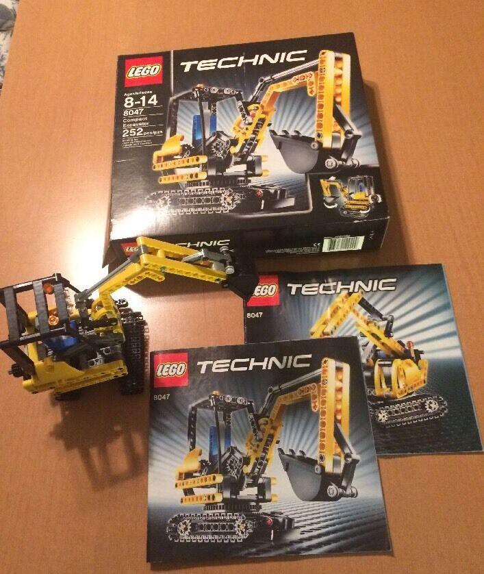 Lego Technic 8047 Compact Excavator (See Description)