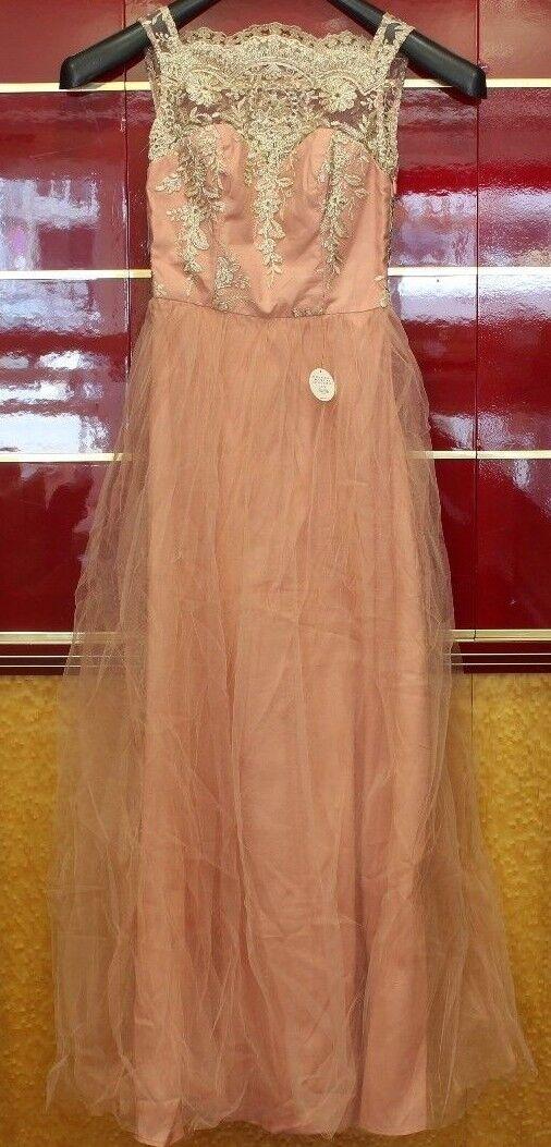 CHI CHI London Cocktailkleid festliches Kleid hochwertiger Spitze Größe 32 (K44)