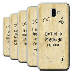 Gel-TPU-Case-for-Samsung-Galaxy-J6-Plus-2018-J610-School-Of-Magic-Film-Quotes