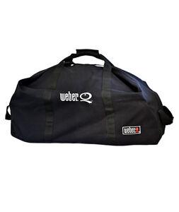 New Genuine Weber Q Duffle Bag Q2000 Series 17709 For Weber Q Bbq Ebay