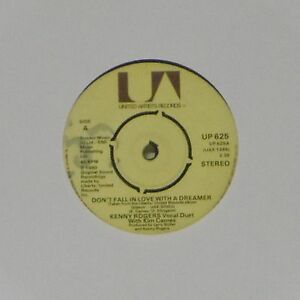 KENNY ROGERS 'DON'T FALL IN LOVE WITH A DREAMER' UK 7 ...