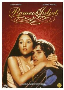 Details About Romeo And Juliet 1968 New Sealed Dvd Olivia Hussey