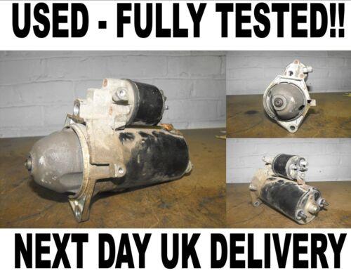 Vauxhall Vectra Mk2 2.0 2.2 DTI STARTER MOTOR 2002 2003 2004 2005 2006-2008 C