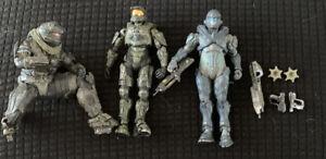 McFarlane-Halo-Action-Figure-Lot-3-Figures