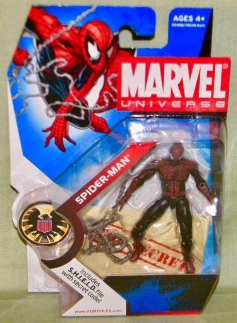 3.75/'/' Dc Comics Marvel Universe Legends 2009 Spider-man Batman Action Figures