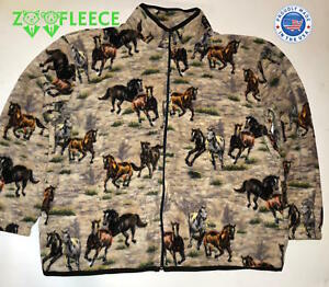 3a640e7cd4f ZooFleece Women s Horse Riding Jacket Gift Horses Sweater Equestrian ...