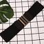 thumbnail 2 - Women Wide Elastic Stretch Waist Belt Gold Bucket Black Belt Wide Waist Belt