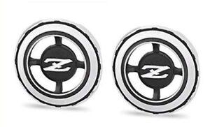 Genuine OEM Nissan Datsun 76808-E8200 Driver Rear Quarter Pillar Emblem Badge