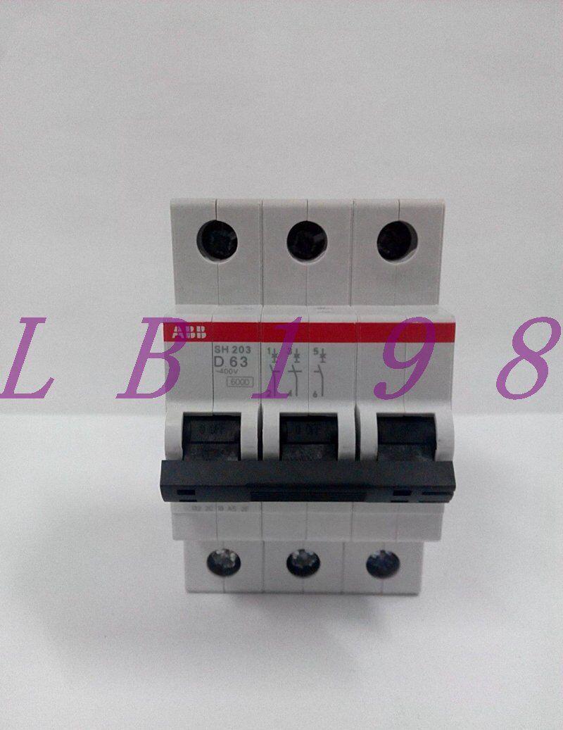 ONE NEW ABB SH203-D63 3P D63A