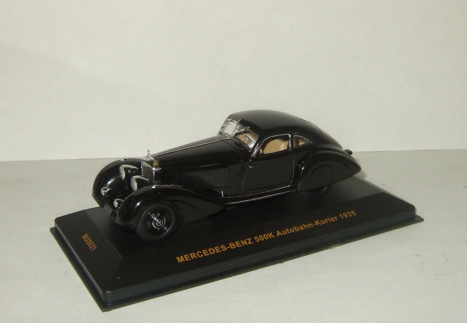 Mercedes Benz 500 K AUTOBAHN-KURIER 1935 IXO Museum 1 43 MUS 021