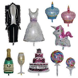 GRANDE-Elio-Foil-Balloon-Compleanno-Decorazione-Festa-Matrimonio-Palloncini-Baby-scegliere
